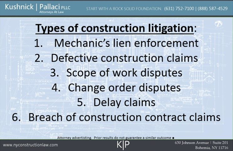 NYC Construction Litigation | NY Construction Litigation LawyersNY ...